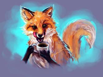 I love coffee by FoxyAnt