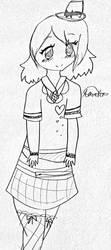 Sketch for Da1nty-D33r! by Narangie