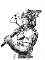 Conan sketch by antalas