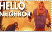 Hello Neighbor Stamp by IzaStarArtist17