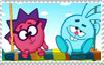 Pogoriki X Chikoriki Stamp by IzaStarArtist17