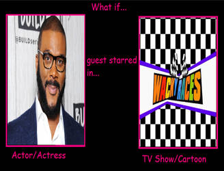 What if Tyler Perry Guest Star at Wacky Races by IzaStarArtist17