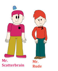 Mr. Men Show Human 5 by IzaStarArtist17