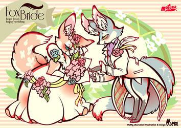 fox bride by mofuwa