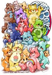 care bears by mofuwa
