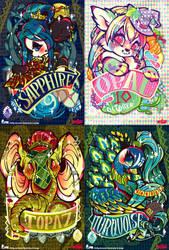 MAGIC JEWERY series 3 by mofuwa