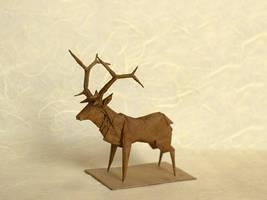 Robert J. Lang - Roosevelt Elk, opus 358 by ViewtifulJesus