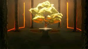 Nanoreno13: The Temple by Auro-Cyanide