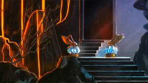 Nanoreno13: The Entrance by Auro-Cyanide