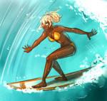Nachtigal: Surfing by Auro-Cyanide