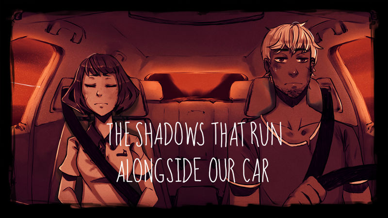 VN Release: The Shadows That Run Alongside Our Car by Auro-Cyanide