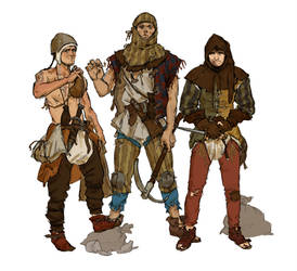 Bandit Youths by quargon