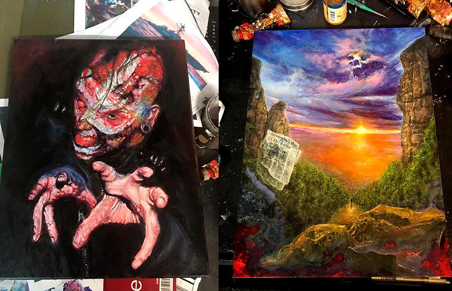Paintings by DanHenk