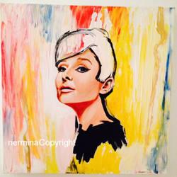Audrey Hepburn by SugarSunset