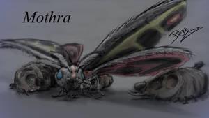 1 Hour - Mothra by pepezilla