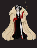 Cruella De Vil by Katifisen
