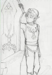 In your shadow, my King WIP by Mikaua