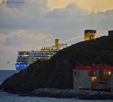 sailing away by burcyna