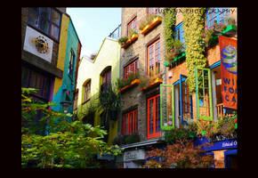 Neal's Yard, London by burcyna