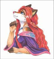 -First marker attempt: Vixen- by SnowSnow11