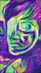 picasso-esque self portrait by six0clocktea