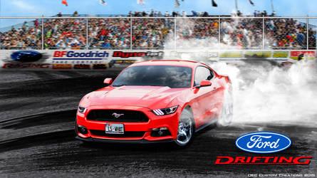 Mustang GT Drift by Fractual
