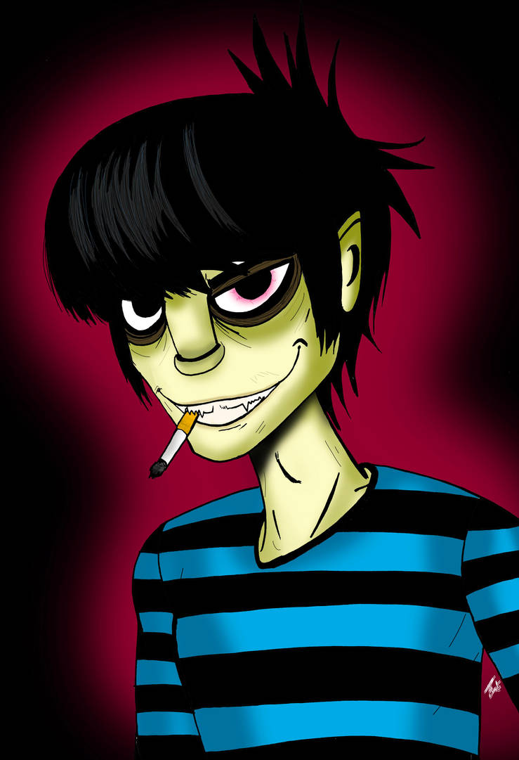 Murdoc Niccals by angie2d