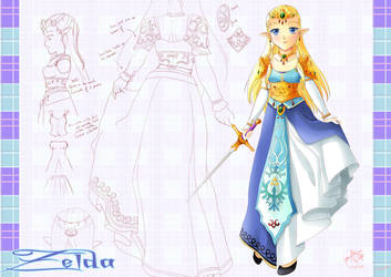 Zelda design -commission- by yuina19
