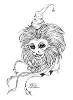 COM : Magician Monkey by baroquegothik
