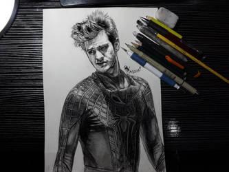 Andrew Garfield as The Amazing SpiderMan by Williaaaaaam