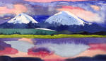 Tibetan Mountains by egonSchiele