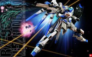 RX-93-v2 Hi-v Gundam - remaster by Pizza-Surgeon