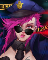 OFFICER VI by Pizza-Surgeon
