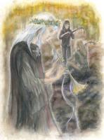 Elven Minstrels by hystree
