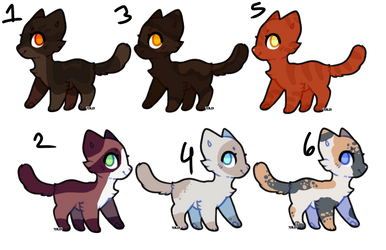 Adoptables Batch 9 ( CLOSED ) by jobeisaweirdo