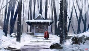 Shrine by jontorresart