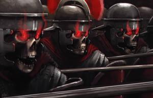 Undead Legion by jontorresart