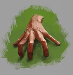 Hand Study 5/15/2017 by jontorresart