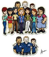 Mix People Group by raidan1280
