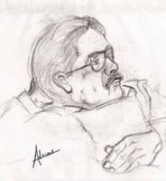 Portrait of my father by raidan1280