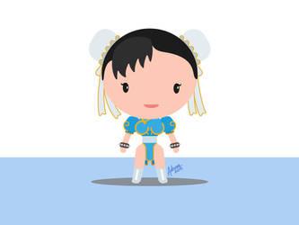 Chun Li Street Fighter Fan Art by raidan1280