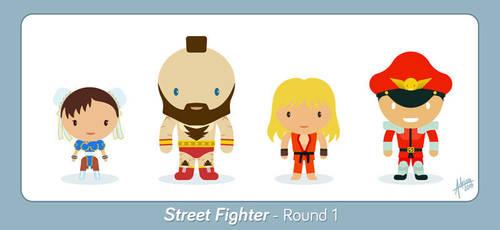 Street Fighter - Round 1 - Fan Art by raidan1280