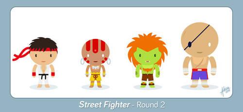 Street Fighter - Round 2 - Fan Art by raidan1280