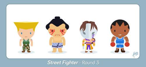Street Fighter - Round 3 - Fan Art by raidan1280