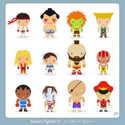 Street Fighter - The world warrior - Fan Art by raidan1280