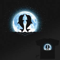 Magical moonlight - Threadless Design by raidan1280