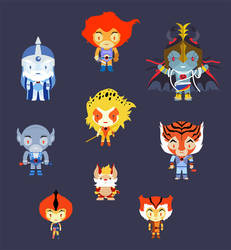 Thundercats, ho! chibi by raidan1280