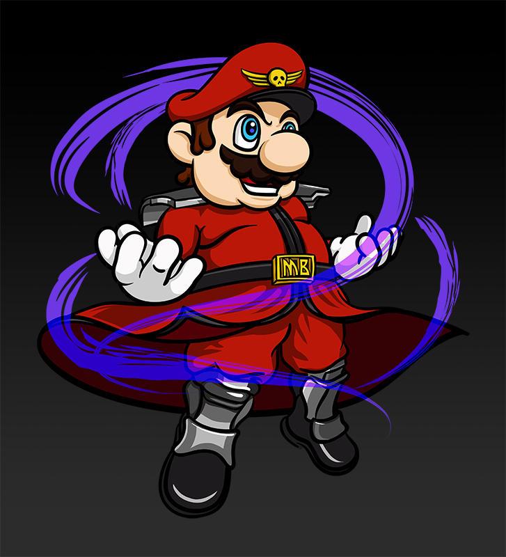 Mario Bison by raidan1280