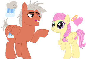 Scootaloo's Parents by BerryPunchrules
