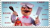 Swedish Chef Stamp by Firestorm-the-Poet